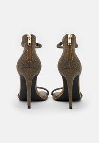 Steve Madden - RAPTURE - High heeled sandals - gold - 3