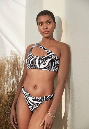 V-FRONT HIGH LEG TWO PACK - Bikini bottoms - multi-coloured