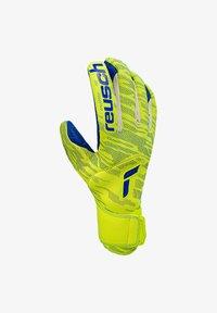 Reusch - PURE CONTACT FUSION TW - Goalkeeping gloves - gelbblau - 0