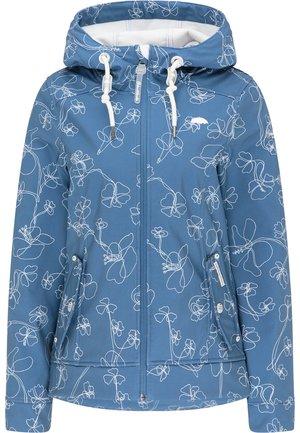 Outdoor jacket - graublau