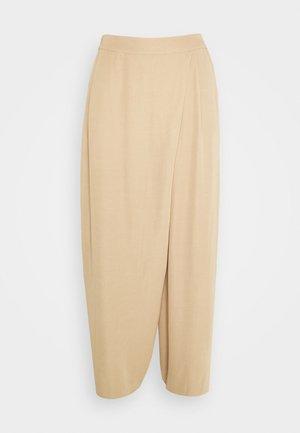 POELLA - Trousers - beige