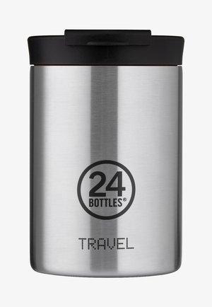 TRINKBECHER TRAVEL TUMBLER BASIC - Drink bottle - silber