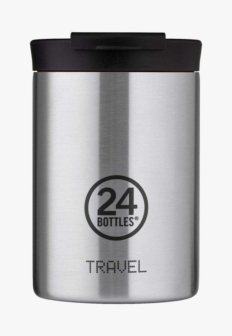 24Bottles - TRINKBECHER TRAVEL TUMBLER BASIC - Bidon - silber