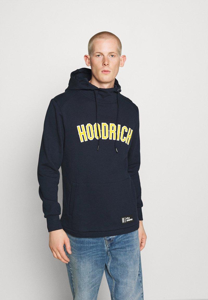 Hoodrich - Hoodie - navy/yellow