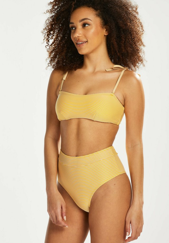 HOHE CHEEKY - Bas de bikini - yellow