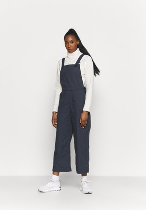 STAND UP CROPPED OVERALLS - Trousers - smolder blue
