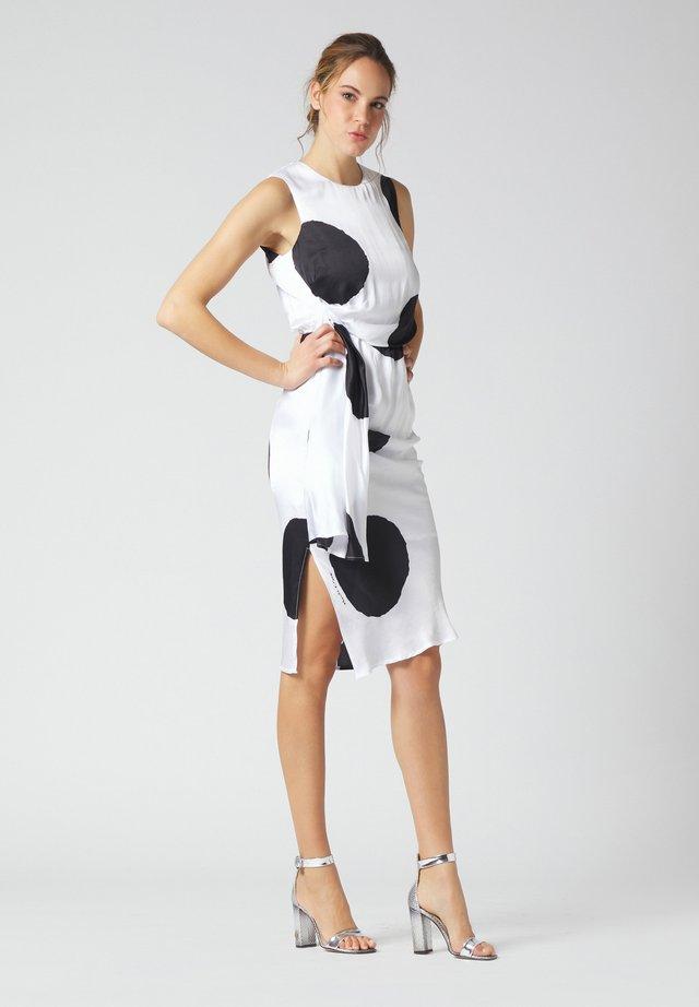 Shift dress - bianco