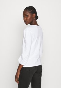 Dorothy Perkins - EMBROIDERED COLLAR  - Long sleeved top - white - 2