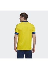 adidas Performance - SWEDEN SVFF HOME JERSEY - Landsholdstrøjer - yellow/indigo - 2