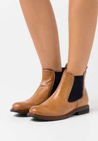 Tamaris - BOOTS - Classic ankle boots - nut/blue - 0