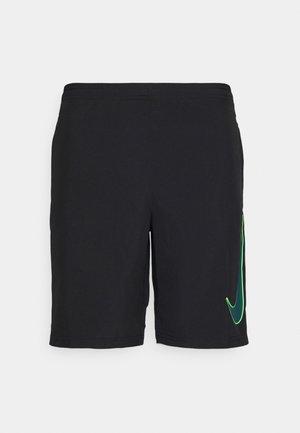 DRY ACADEMY SHORT - Short de sport - black/dark teal green