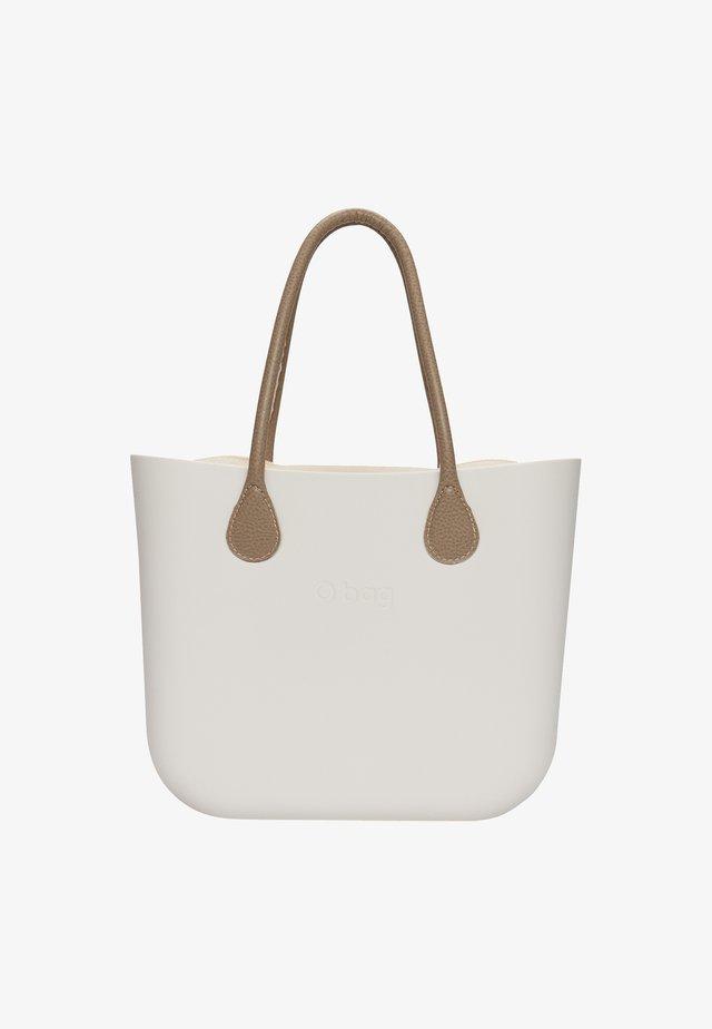 Shopping bag - latte-marrone