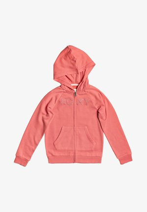 ANOTHER CHANCE B  - Zip-up hoodie - deep sea coral