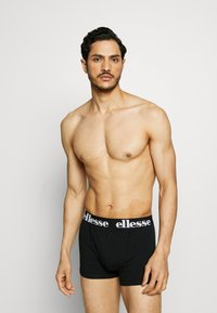 Ellesse - NURRA FASHION TRUNKS 5 PACK - Pants - black - 0