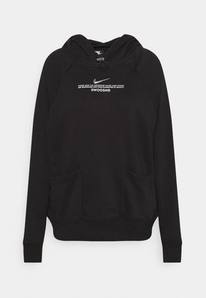 HOODIE - Sweater - black/white