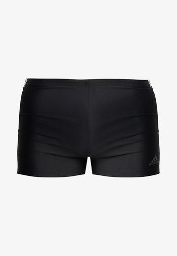 FIT - Swimming trunks - black/white