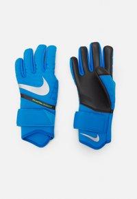 Nike Performance - PHANTOM SHADOW - Goalkeeping gloves - photo blue/black/silver - 1