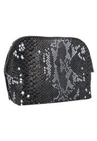 Cowboysbag - Wash bag - snake black/white - 1