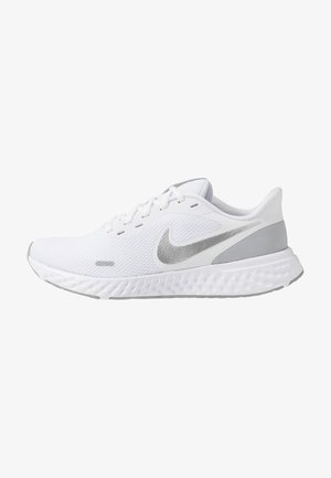 REVOLUTION 5 - Neutral running shoes - white/wolf grey/pure platinum