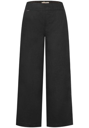 MIT WIDE LEG - Trousers - grau