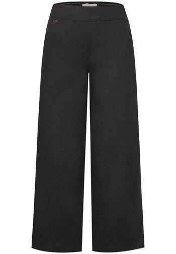 MIT WIDE LEG - Trousers - grau