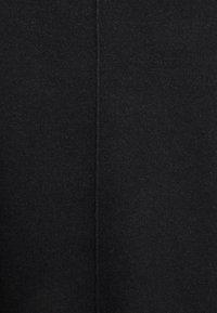 TOM TAILOR - SKIRT MILANO MIDI - Pencil skirt - black melange - 2