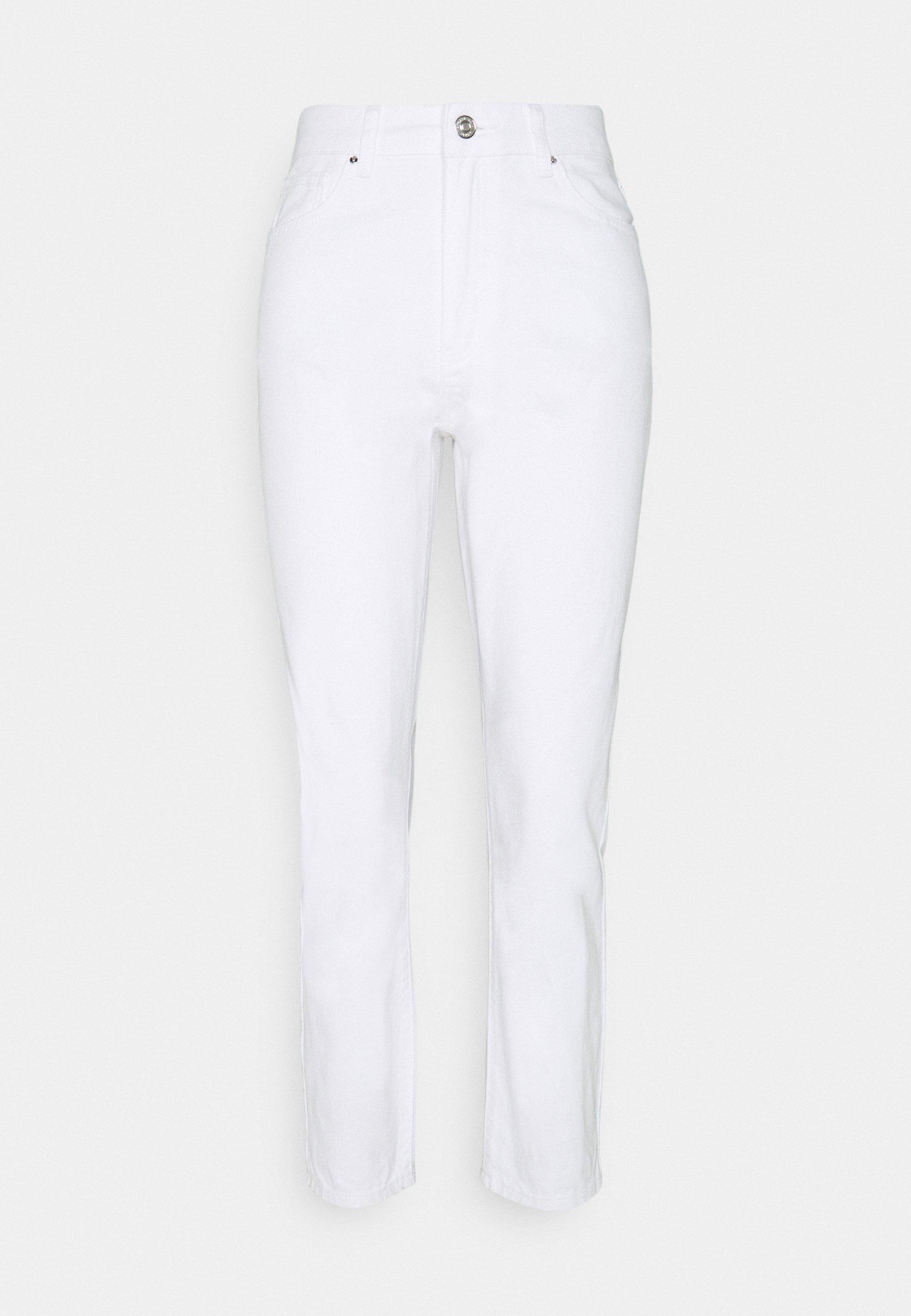 Women NMISABEL MOM - Straight leg jeans