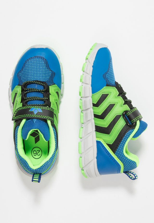 KILIAN - Sneakers laag - blau/schwarz/grün