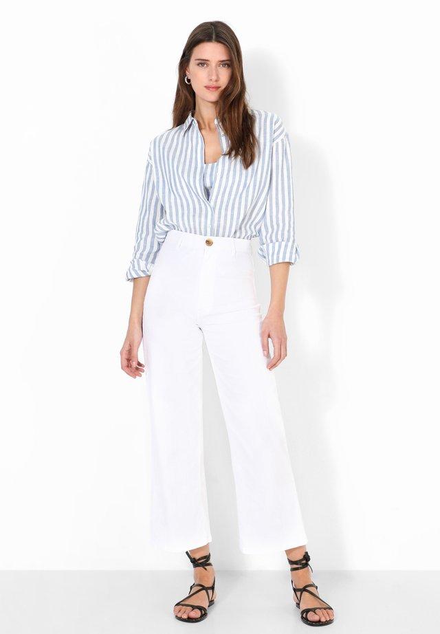 Jeans bootcut - white