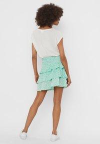 Vero Moda - A-line skirt - neptune green - 2