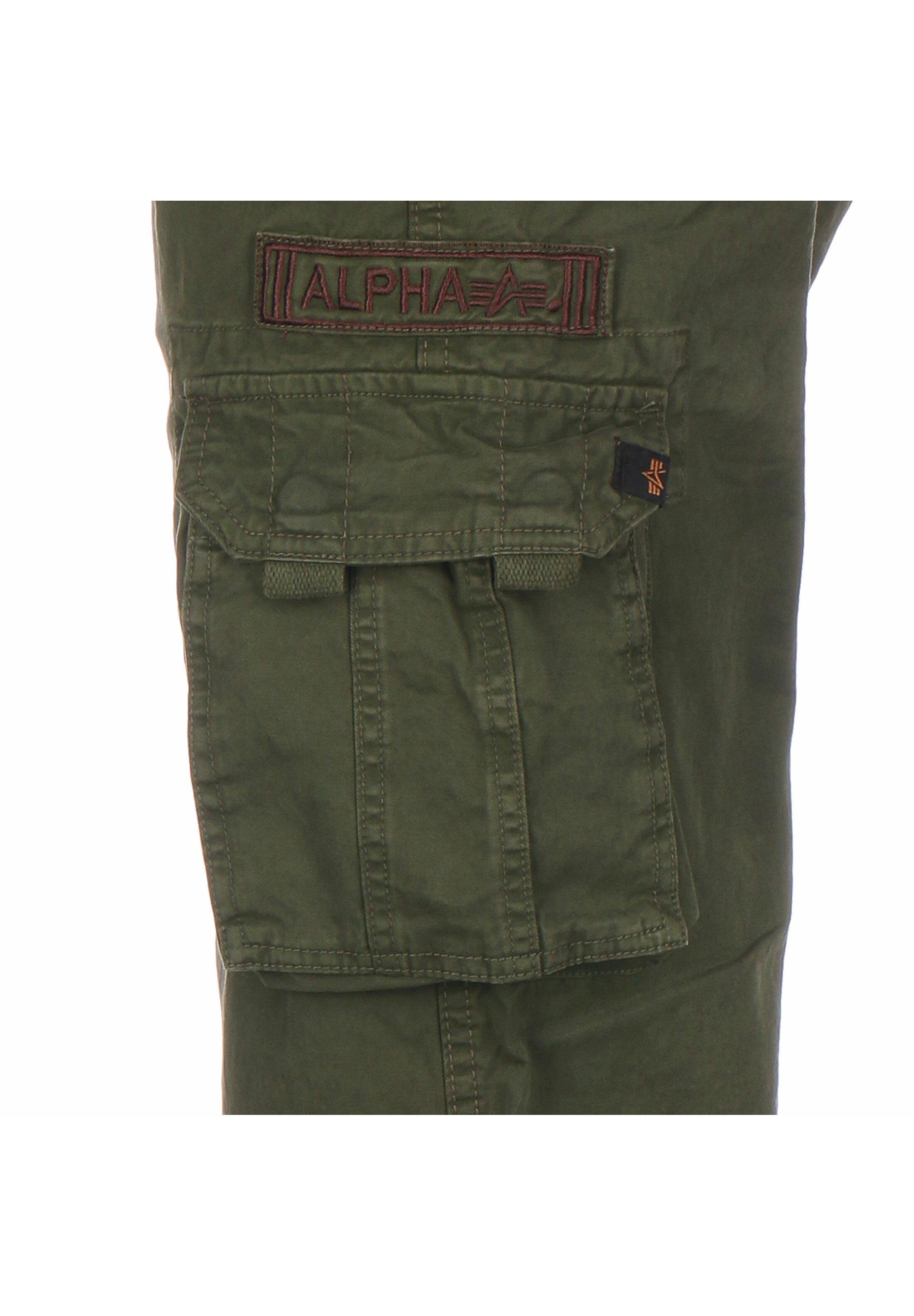 Alpha Industries JET - Pantalon cargo - dark olive