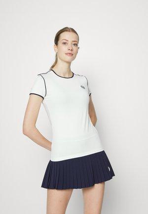 WOMAN - Print T-shirt - blanc/night sky