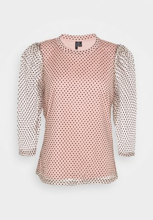 VMJUANA TOP PETITE - Blůza - misty rose/black