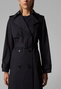 BOSS - CANDROMEDAE - Trenchcoat - open blue