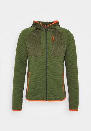 BATAVIA - Fleece jacket - dark olive
