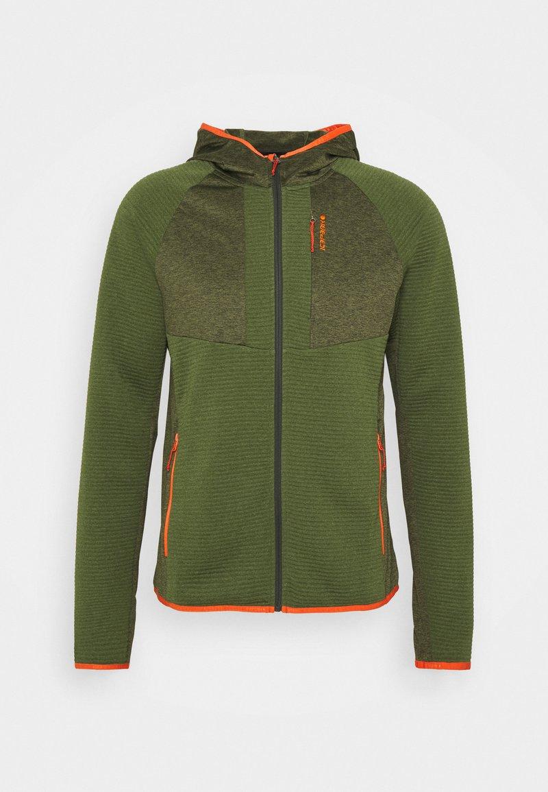 Icepeak - BATAVIA - Fleece jacket - dark olive