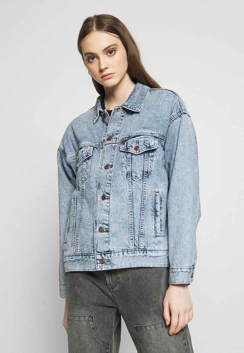 Levi's® - DAD TRUCKER - Giacca di jeans - old story