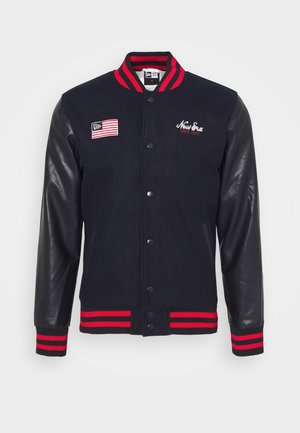 NEW ERAHERITAGE VARSITY - Training jacket - black