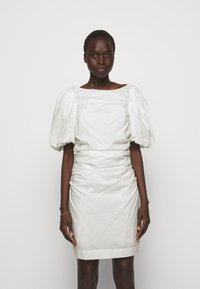DESIGNERS REMIX - SANDRA PUFF DRESS - Fodralklänning - cream - 0
