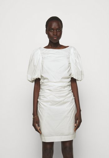 SANDRA PUFF DRESS - Shift dress - cream