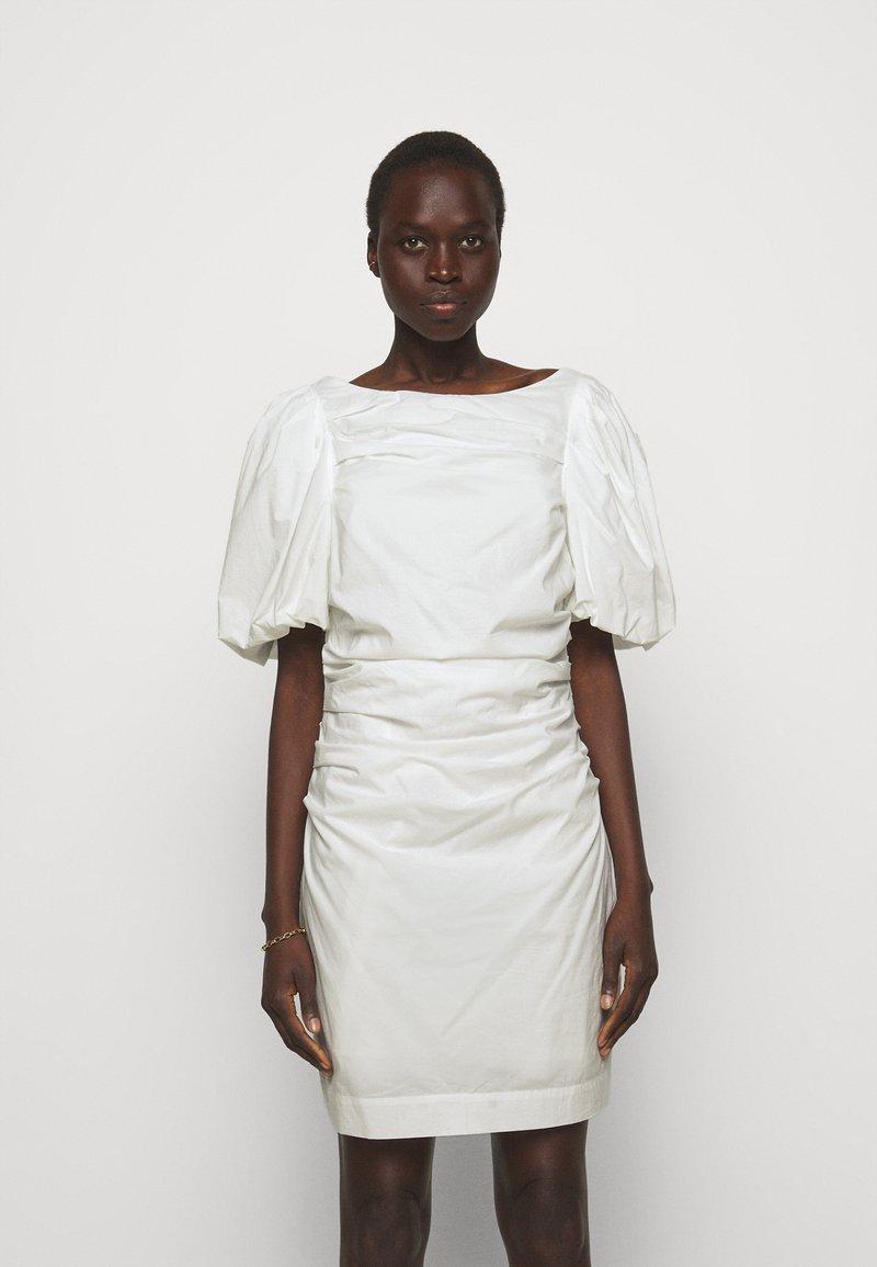 DESIGNERS REMIX - SANDRA PUFF DRESS - Fodralklänning - cream
