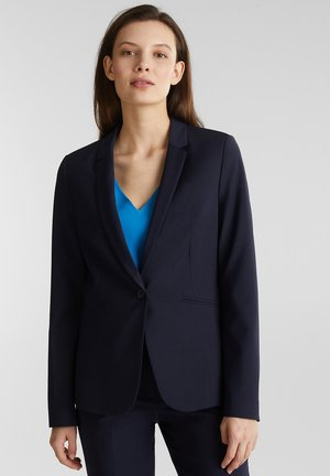 MIT WOLLE: ACTIVE MIX + MATCH STRETCH-BLAZER - Blazer - navy