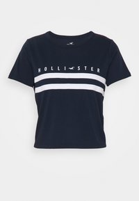Hollister Co. - TUCKABLE SPORTY - T-shirts med print - navy - 3