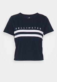 Hollister Co. - TUCKABLE SPORTY - Print T-shirt - navy - 3