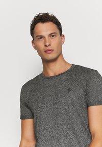 TOM TAILOR DENIM - T-shirt - bas - black - 3