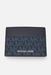 Michael Kors - TALL CARD CASE UNISEX - Wallet - dark blue - 4