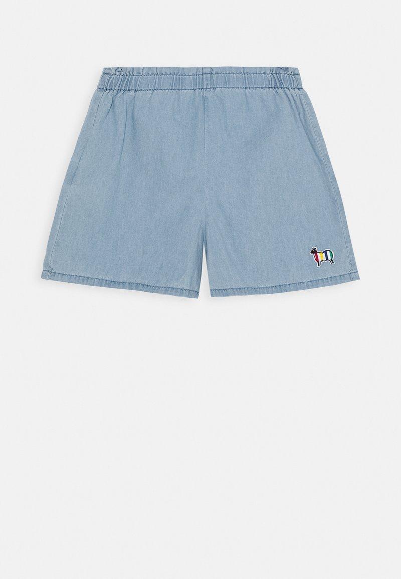 Benetton - Shorts di jeans - blue