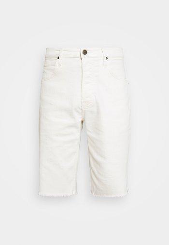 CUT OFF - Shorts di jeans - off white