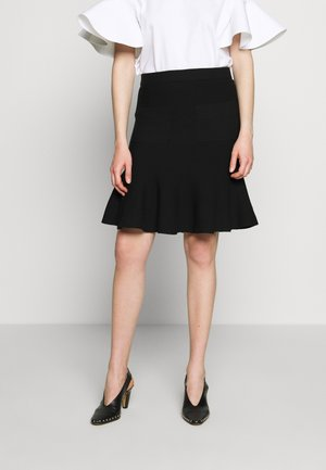 CYNTHIA LOVELY KNIT SKIRT - Pencil skirt - black