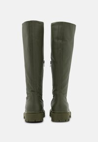 Selected Femme - SLFEMMA HIGH SHAFTED BOOT  - Plateaustiefel - kalamata - 3